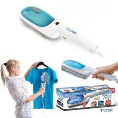 Bàn ủi hơi nước cầm tay Tobi -TV ( Trắng Xanh ) bàn là cầm tay. bàn là hơi nước, bàn ủi quần áo