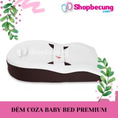 [Thu thập mã giảm thêm 30%] ĐỆM NGỦ ĐÚNG TƯ THẾ VÀ CHỐNG TRÀO NGƯỢC COZA BABY BED BẢN PREMIUM