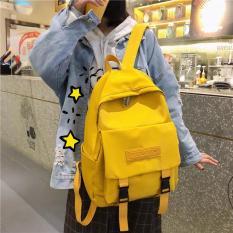 Balo thời trang, đi học, laptop nam, nữ hàng chất lượng, Phong cách Hàn Quốc (Có túi đựng nước 2 bên) – TH28 – The Hills