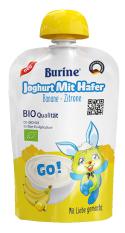 Sữa chua yến mạch hữu cơ Organic vị chuối chanh