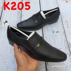 [HCM]Giày Tây Nam Size từ 39 đến 43 Kiểu Dáng Lịch Lãm Thời Thượng Chất Liệu Da Tổng Hợp Mềm Mại Êm Chân Đế Cao Su Nhẹ Nhàng Chắc Chắn