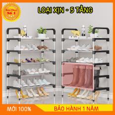 Kệ giày dép 4-5 tầng gọn gàng loại 1giá để giày 4-5 tầng tủ sắp xếp giày, thiết kế cơ động, dễ dàng để lắp hoặc tháo rời