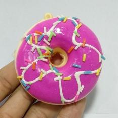 Squishy Các Hình – Mẫu 3 – Bánh Donut Hồng