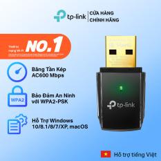 Bộ Chuyển Đổi USB Wifi TP-Link Archer T2U Băng Tần Kép AC600 – Hãng phân phối chính thức