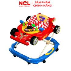 Xe Tập Đi Nhựa Chợ Lớn L4 Xe Đua F1 (Không nhạc) Dành Cho Bé Từ 6 – 12 Tháng – M1631A-XTĐ