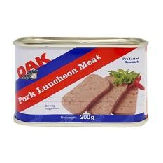 [Chính hãng] Pate Thịt Heo Luncheon Meat Hiệu DAK 200g của Đan Mạch. HSD: 2024