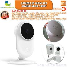 [Bản quốc tế] Camera giám sát xiaomi mijia IP fullHD 1080P góc 130 độ, đèn hồng ngoại quay đêm, cảnh báo chuyển động đàm thoại 2 chiều – Bảo hành 12 tháng