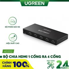 Bộ chia cổng HDMI 1 cổng ra 4 cổng 2K x 4K Hỗ trợ full HD UGREEN 40202 – Hãng phân phối chính thức