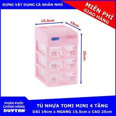 Tủ nhựa Duy Tân TOMI Mini 4 tầng