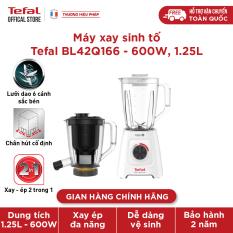 Máy xay sinh tố và ép 2 cối, ép vay xay 2 trong 1 Tefal – BL42Q166, chính hãng bảo hành 2 năm