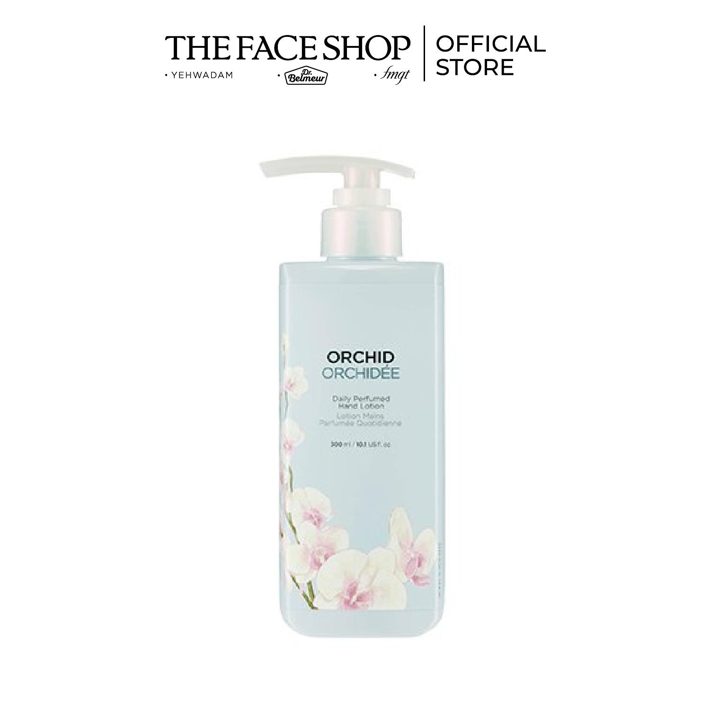 Kem dưỡng da tay THEFACESHOP Daily Perfumed Hand Lotion Orchid 300ml