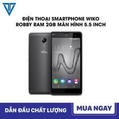 Điện thoại Smartphone Wiko Robby Ram 2GB, Màn hình 5.5 inch, Rom 16GB CHƠI LIÊN QUÂN CỰC ĐÃ + Tặng kèm ốp lưng Bảo hành 12 tháng