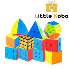 Rubik MoYu 2×2 3×3 4×4 5×5 Megaminx Pyraminx Rubik Biến Thể Rubic Đồ Chơi Trí Tuệ (Loại Xịn)