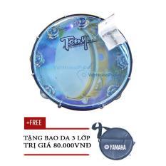 Trống lắc tay – trống gõ bo – Tambourine Cao Cấp TONY (USA) – Tặng bao da 3 lớp – Việt Hoàng Phong