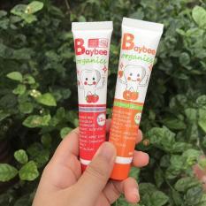 Kem Đánh Răng Baybee Organic 40gr Nuốt Được Cho Bé Từ 1 Tuổi