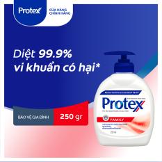 Nước rửa tay diệt khuẩn Protex Family 250ml/chai dành cho gia đình