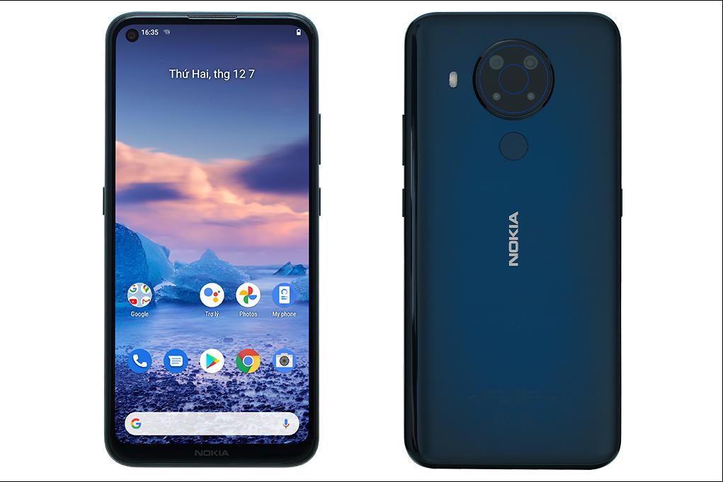 [Trả góp 0%]Điện thoại Nokia 5.4 (4/GB) Hàng chính hãng Bảo hành 12 tháng
