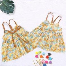 Váy hai dây hoa nhí cho bé gái QATE732