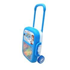 Bộ đồ chơi bảng chữ cái và số mẫu vali kéo cho bé học tập – đồ chơi giáo dục phát triển trí tuệ sớm cho bé HT7511