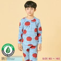 Đồ bộ dài tay mặc nhà cotton mịn cho bé trai U1014 – Unifriend Hàn Quốc, Cotton Organic