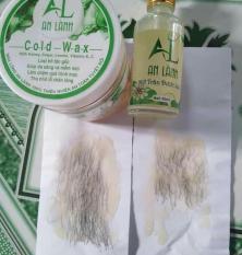 Sáp wax lông An Lành tặng kèm giấy + 2 que gạt