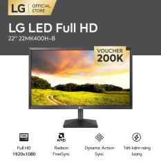 [FREESHIP – VOUCHER 200K] Màn hình máy tính LG 22 inches LED Full HD 1920×1080 l AMD FreeSync™ l ENERGY STAR® l 22MK400H-B   HÀNG CHÍNH HÃNG