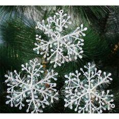 Bộ 3 bông tuyết trang trí Noel, trang trí giáng sinh