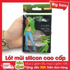 Combo 5 Cặp Lót Mũi Giày Nữ Silicon Hàng Cao Cấp Dày 3,5mm – PK001
