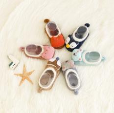 Giày len xù 3D hình thú cho bé, Giày có chống trượt cho bé, Cho bé từ 0 – 36 tháng