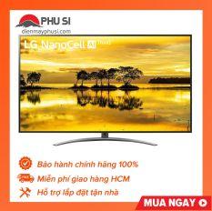 Smart tivi NanoCell LG 4K 65 inch 65SM9000PTA, 100% chính hãng, hỗ trợ lắp đặt tận nhà, miễn phí giao hàng khu vực HCM