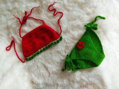 Bikini len handmade cho bé BKN01