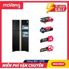 [TRẢ GÓP 0%] Tủ lạnh Hitachi Inverter 509 lít R-FW650PGV8(GBK)