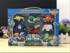 Combo 8 xe đồ chơi siêu dễ thương cho bé