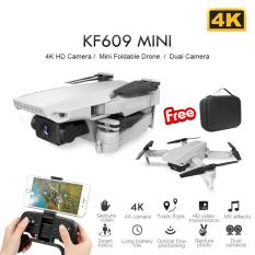 [ KÈM TÚI ] Flycam mini KF609, máy bay điều khiển từ xa Camera 4K ảnh truyền trực tiếp về điện thoại, tự động dữ độ cao