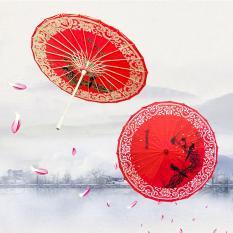 Dù vải dầu Wagasa Nhật Bản, Ô dù vải dầu in hoa văn họa tiết phong cách Nhật Bản