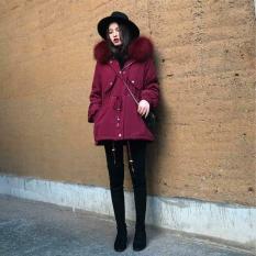 Áo khoác kaki hai lớp dày dăn cách điệu