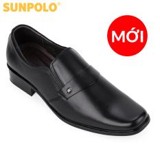 Giày Nam Da Bò Công Sở SUNPOLO SPH120 (Đen)