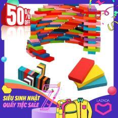 Đồ chơi trẻ em – Bộ đồ chơi 100 quân Domino bằng gỗ