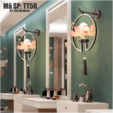 Đèn treo tường trang trí hình hoa sen TT50