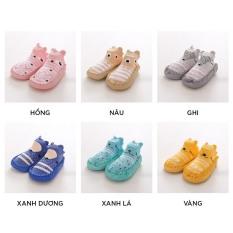 (GB18) Giày tập đi đế mềm,vải mêm chống trơn hàng quảng châu