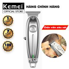 Tông đơ chấn viền Kemei KM-1949 không dây chuyên nghiệp,có thể khắc tatoo, cạo trắng… – hàng phân phối chính thức,