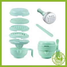 Bộ chế biến ăn dặm 9 món cho bé kiểu Nhật – Goryeobaby Việt Nam – an toàn, free BPA, chất liệu cao cấp -chế biến đồ ăn dặm, dụng cụ vắt cam
