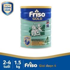 Sữa Friso Gold 4 1,5 kg – 1500g