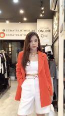 Áo vest cài khuy 2C CChat Clothes