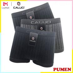 Combo 3 Quần Lót Nam Boxer CALUCI CA 02, Chất Liệu Cotton Cao Cấp, Kháng Khuẩn, An Toàn – PUMEN