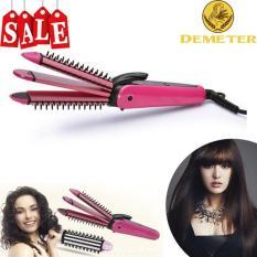 Lược uốn tóc, Lược tạo kiểu, Lược Điện Tạo Kiểu Tóc 3 Trong 1 – Demeter Store