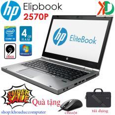 [ TẶNG TÚI, CHUỘT KHÔNG DÂY] Laptop HP Elipbook 2570P Core i5-3320M/ 4gbRAM/250gb HDD 12.5ich