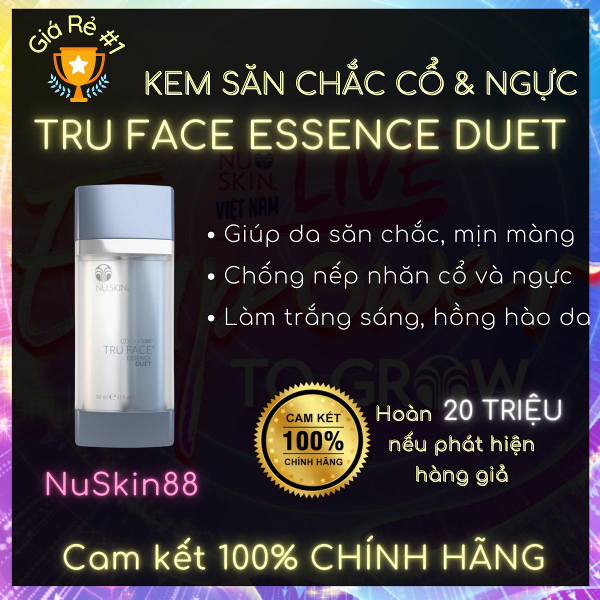 Tinh chất làm săn chắc Cổ và Ngực ageLOC Face Essence Duet NuSkin 30ml – Nâng cơ xóa nhăn – Ageloc Lumispa Boost – Chống lão hóa – Nuskin chính hãng – Nuskin 88 – Sản phẩm Nuskin