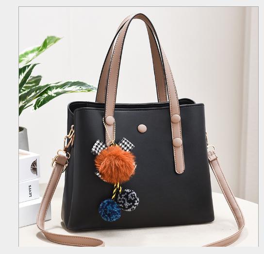 Túi xách tay nữ Quảng Châu, thời trang cao cấp, chất liệu da PU-Ms558