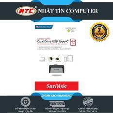 USB OTG Sandisk Ultra Dual Type-C 3.1 64GB 150MB/s (Bạc) – Nhất Tín Computer